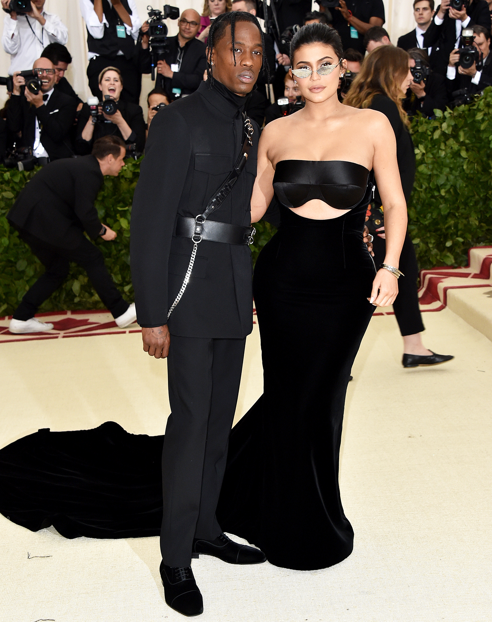 Travis Scott Kylie Jenner Met Gala 2018