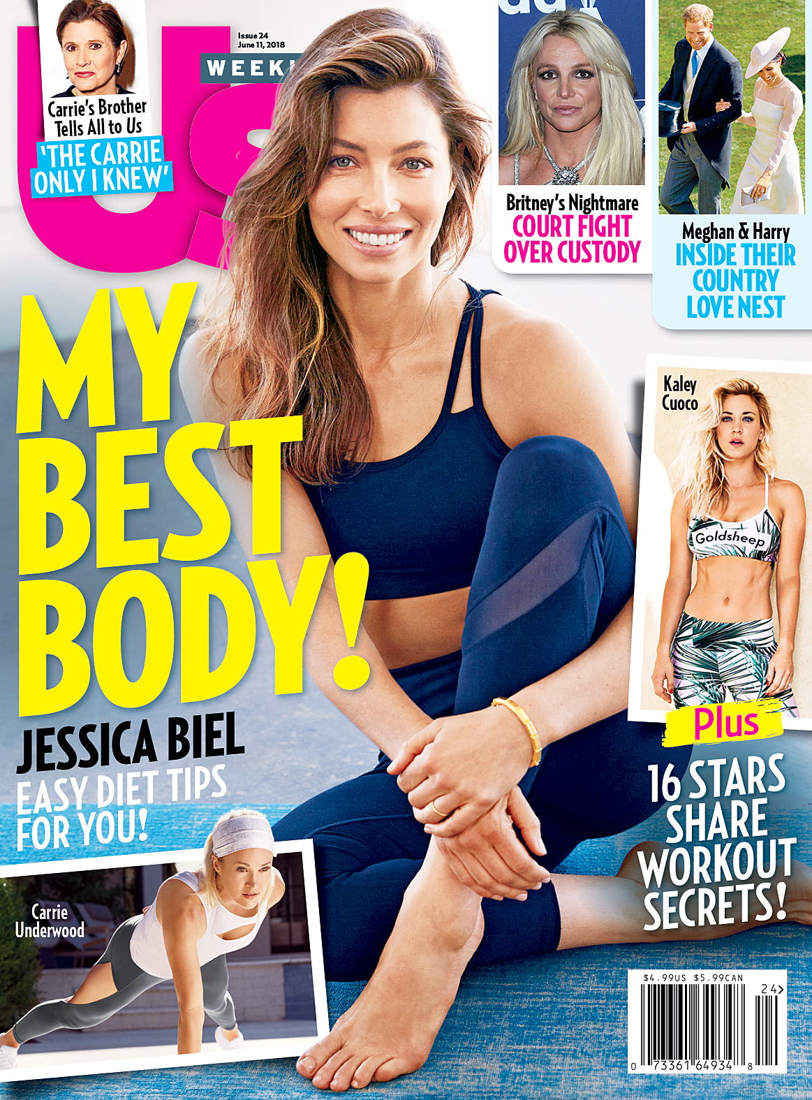 Us Weekly Best Bodies cover