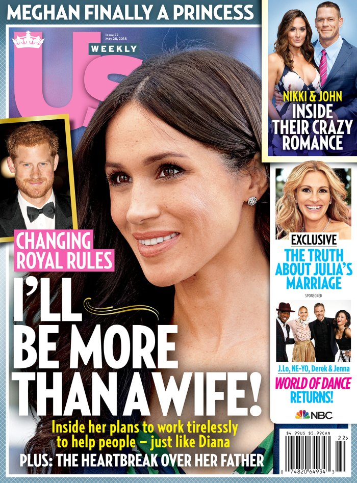 Us Weekly 2218 cover Meghan Markle Prince Harry