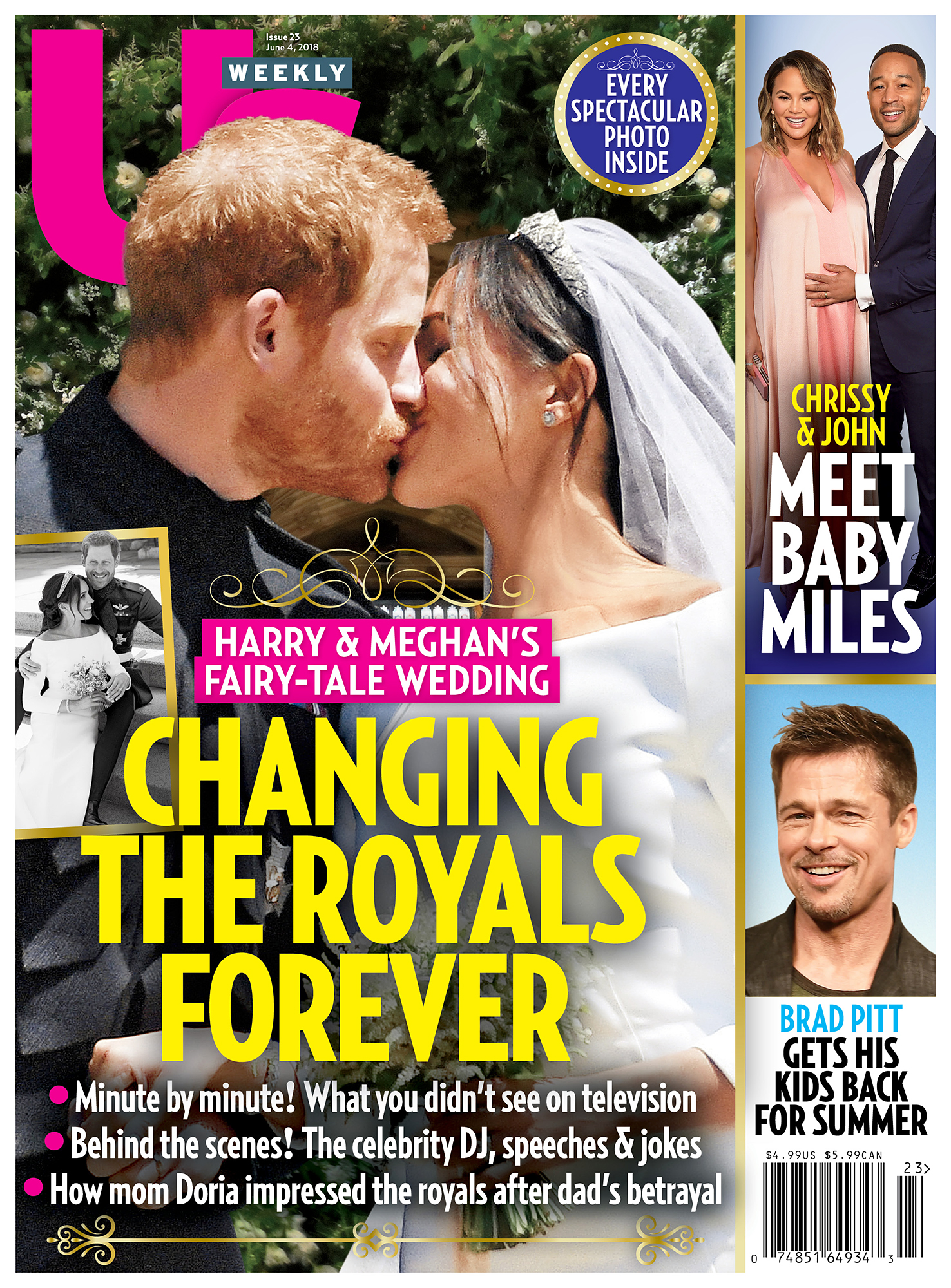 Us Weekly cover Prince Harry Meghan Markle Royal Wedding