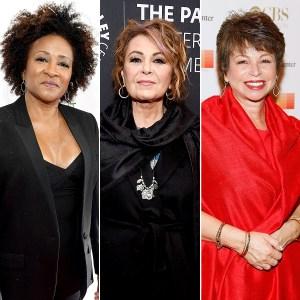 Wanda Sykes, Roseanne Barr, and Valerie Jarrett