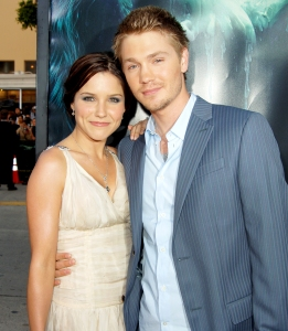 "Sophia Bush and Chad Michael Murray during ""House of Wax"" Los Angeles 2005 Premiere at Mann Village Theater in Westwood, California."