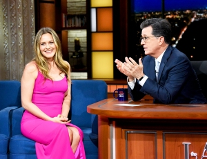 Alicia Silverstone on 'The Late Show with Stephen Colbert'