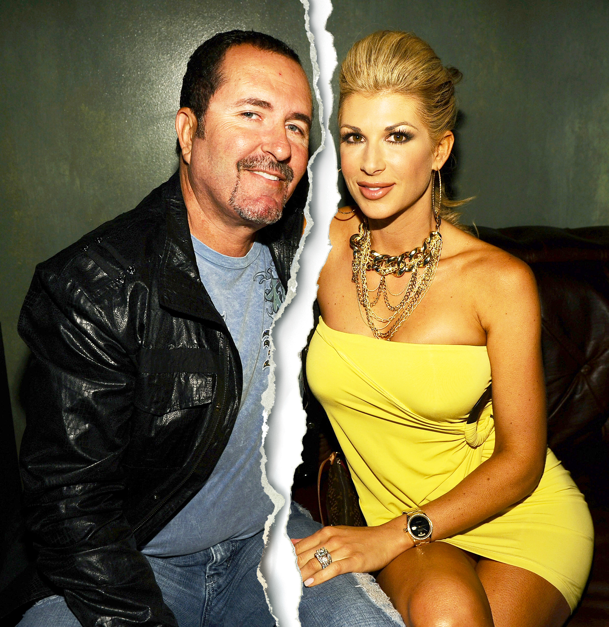 Jim Bellino and Alexis Bellino attend the 2011 LG Revolution party hosted by Verizon at The Sayers Club in Hollywood California