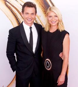 Hugh Dancy and Claire Danes attend the 2016 CFDA Fashion Awards at the Hammerstein Ballroom in New York City.