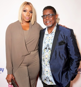 NeNe Leakes and Gregg Leakes attend the National Women's History Museum 5th Annual Women Making History Brunch at Montage in Beverly Hills, California.