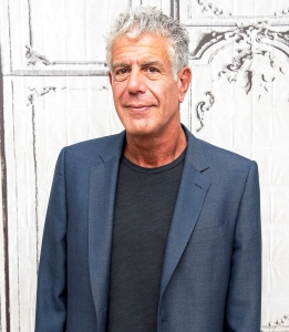Anthony Bourdain visits the 2016 Build Series to discuss 'Raw Craft' at AOL HQ in New York City.