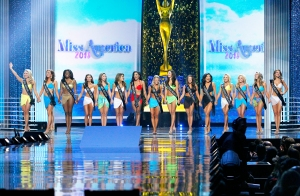 The 2018 Miss America competition at Atlantic City's Boardwalk Hall in New Jersey on September 10, 2017.
