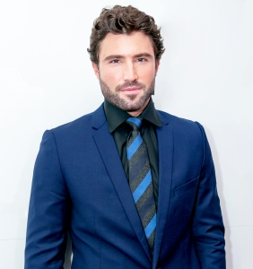 Brody Jenner poses in the Mumm Marquee on Oaks Day at Flemington Racecourse in Melbourne, Australia.