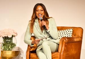 Garcelle Beauvais on stage at Step Up's 14th Annual Inspiration Awards at the Beverly Wilshire Four Seasons Hotel on June 1, 2018 in Beverly Hills, California.