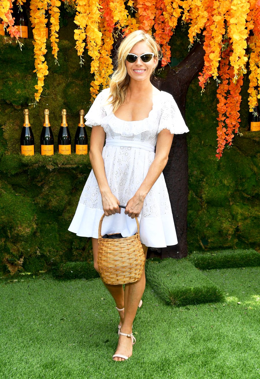 Sienna Miller attends the 11th Annual Veuve Clicquot Polo Classic at Liberty State Park on June 2, 2018 in Jersey City, New Jersey.