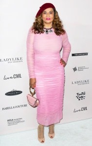 Tina Knowles attends the Ladylike Foundation's 2018 Annual Women Of Excellence Scholarship Luncheon at The Beverly Hilton Hotel on June 2, 2018 in Beverly Hills, California.