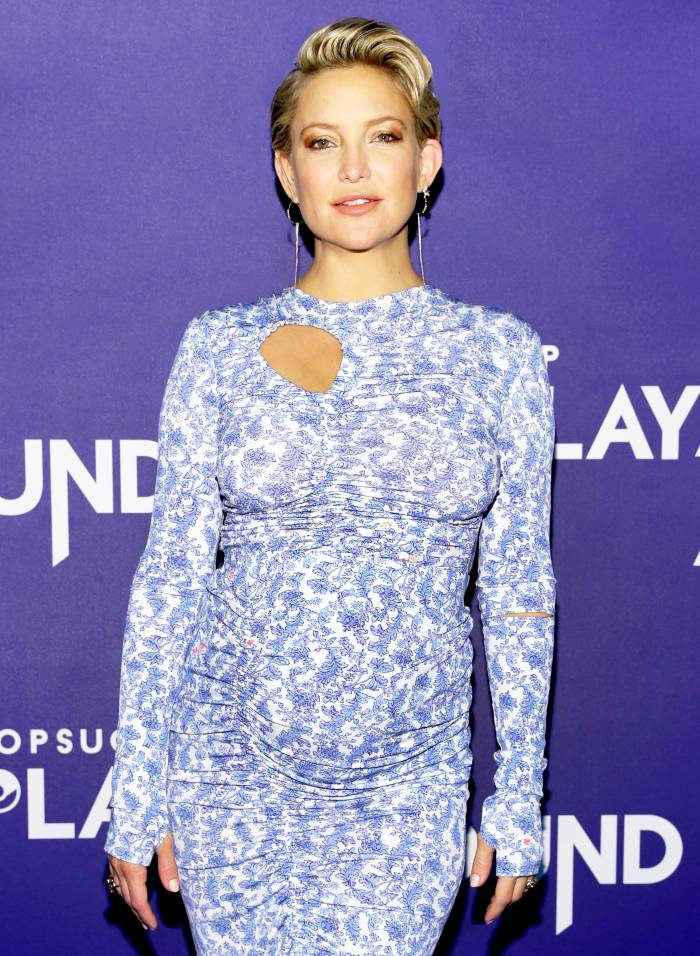 Kate Hudson attends POPSUGAR Play/Ground on June 9, 2018 in New York City.