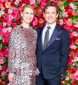 Claire Danes and Hugh Dancy attend the 72nd Annual Tony Awards at Radio City Music Hall in New York City.