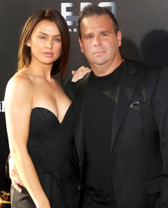 "Lala Kent and Randall Emmett attend the New York Premiere of ""Gotti"" at SVA Theater on June 14, 2018 in New York City."