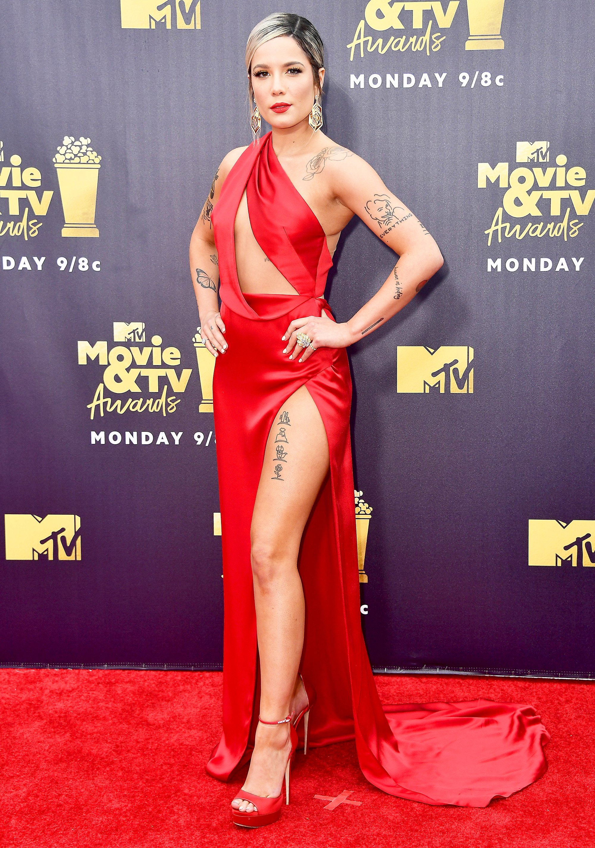 Mtv Movie Tv Awards 2018 Red Carpet Fashion What The Stars Wore