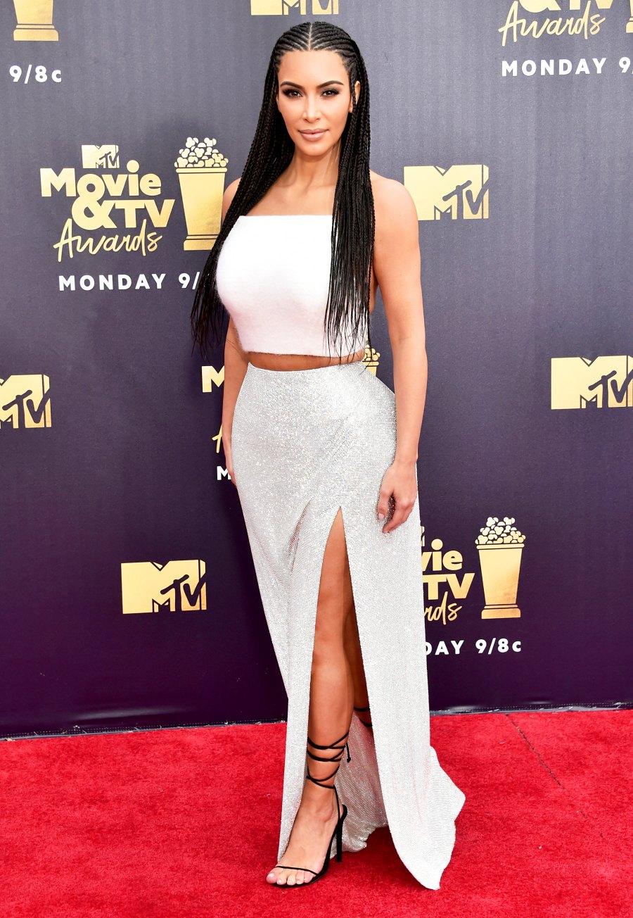 Kim Kardashian 2018 MTV Movie And TV Awards