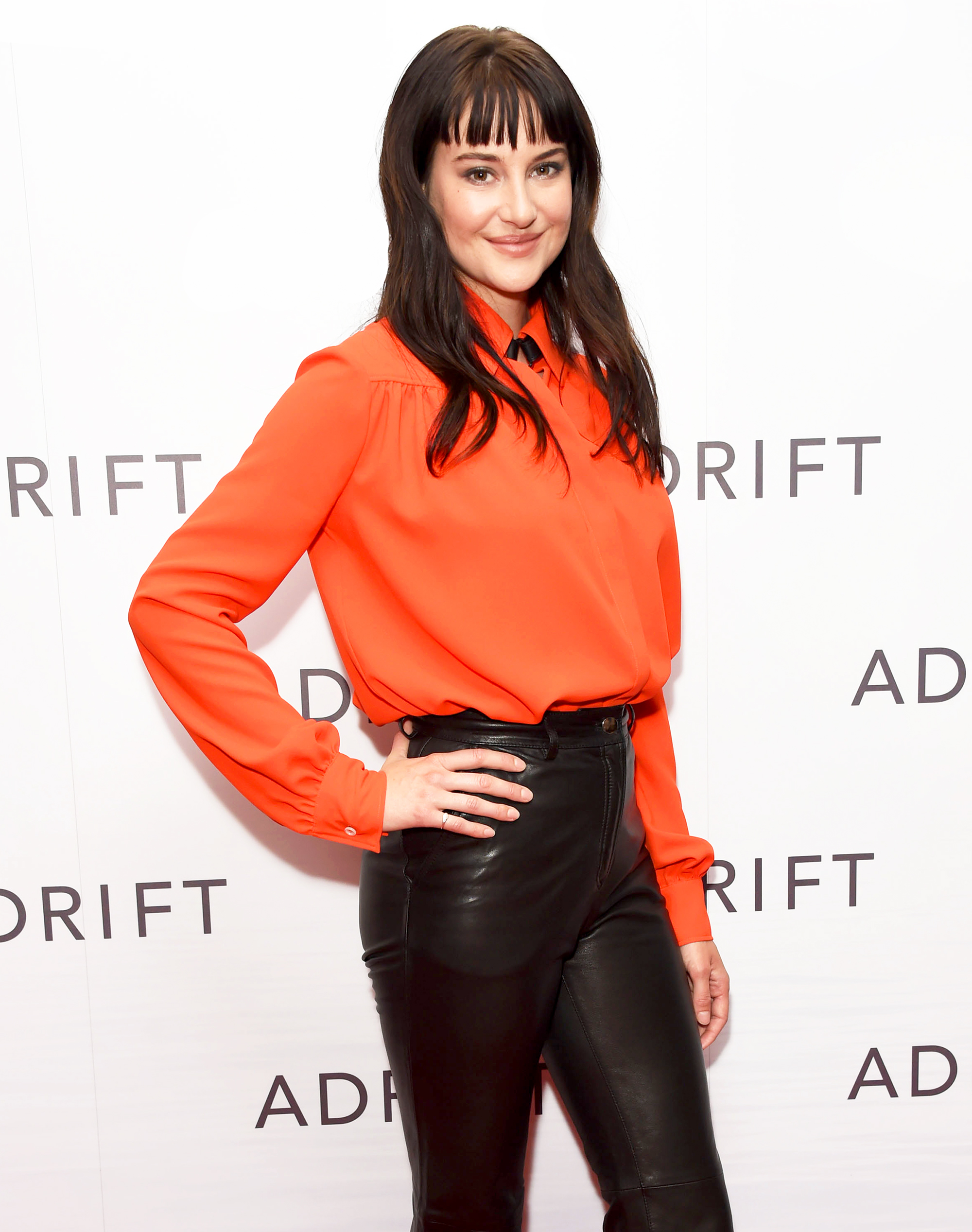 """Shailene Woodley attends a special screening of """"Adrift"""" at The Soho Hotel on June 24, 2018 in London, England. - Shailene Woodley attends a special screening of """"Adrift"""" at The Soho Hotel on June 24, 2018 in London, England."""