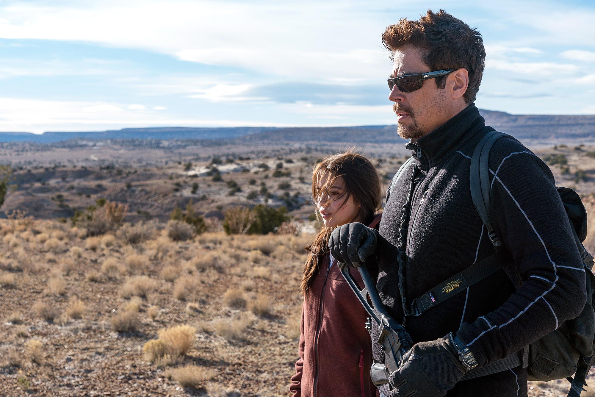 Benicio Del Toro Isabela Moner Sicario Day of the Solda - Benicio Del Toro and Isabela Moner in 'Sicario: Day of the Soldad.