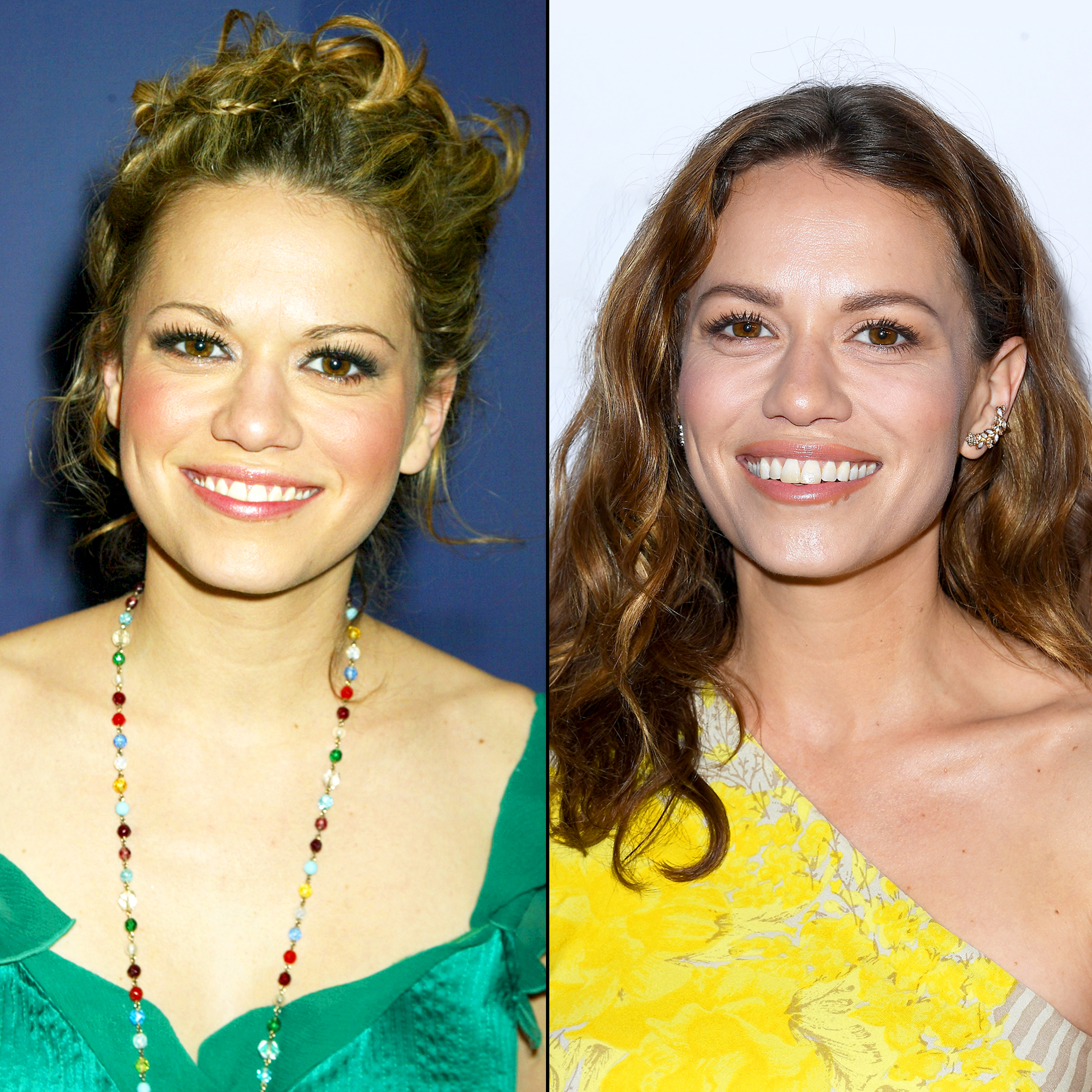 Bethany Joy Lenz One Tree Hill Cast Then and Now Gallery - Lenz's TV career kicked off when she landed a leading role on Guiding Light until 2000. After appearing briefly on Charmed and Felicity , she landed the role of Haley James (later Scott) on One Tree Hill , the nerdy girl in school who falls for the star athlete.