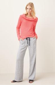 Caslon Drawstring Linen Pants