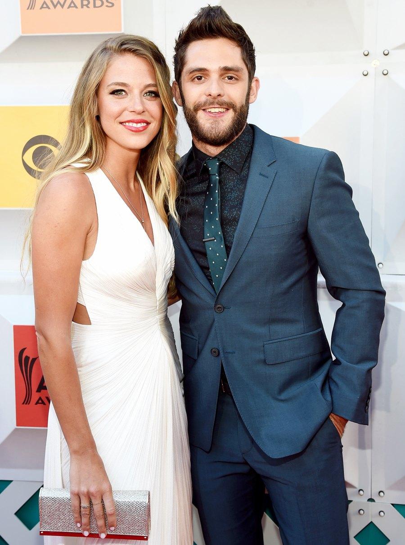 Country Music's Biggest Couples Lauren Gregory Thomas Rhett