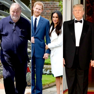 Thomas Markle, Prince Harry, Duchess Meghan and Donald Trump