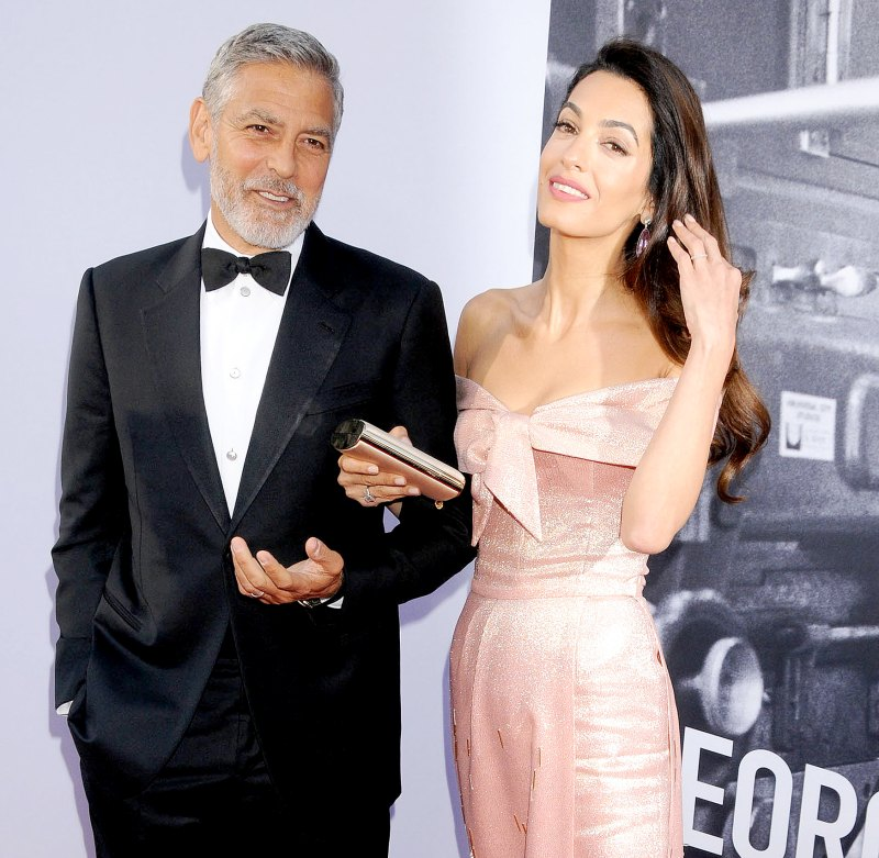 Everything We Know George and Amal Clooney Have Said About Parenthood George-Clooney-Amal-2