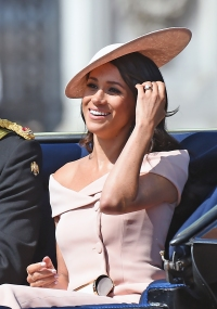 Meghan Markle off the shoulder dress