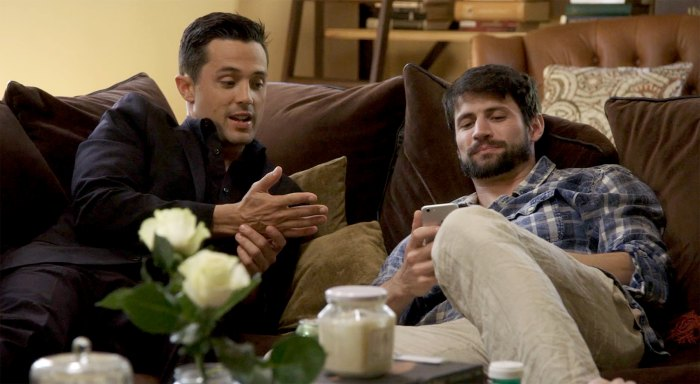 Stephen Colletti and James Lafferty