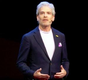 Jason Rosenthal during 'Ted Talk'