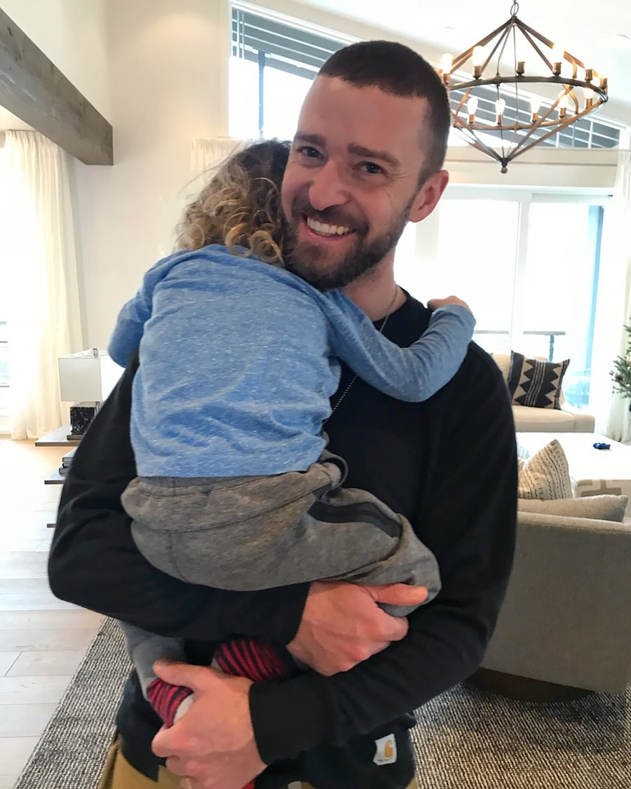 Justin Timberlake, Father's Day, Son, Silas