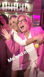 Kaley Cuoco, Mom, Bachelorette Party, Engaged, Instagram