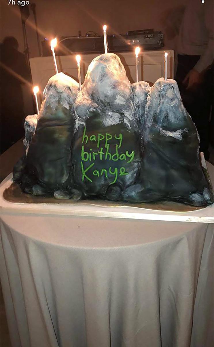 Kim Kardashian Threw Kanye West An Epic 41st Birthday Party Photos