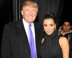 Kim Kardashian, Donald Trump, President