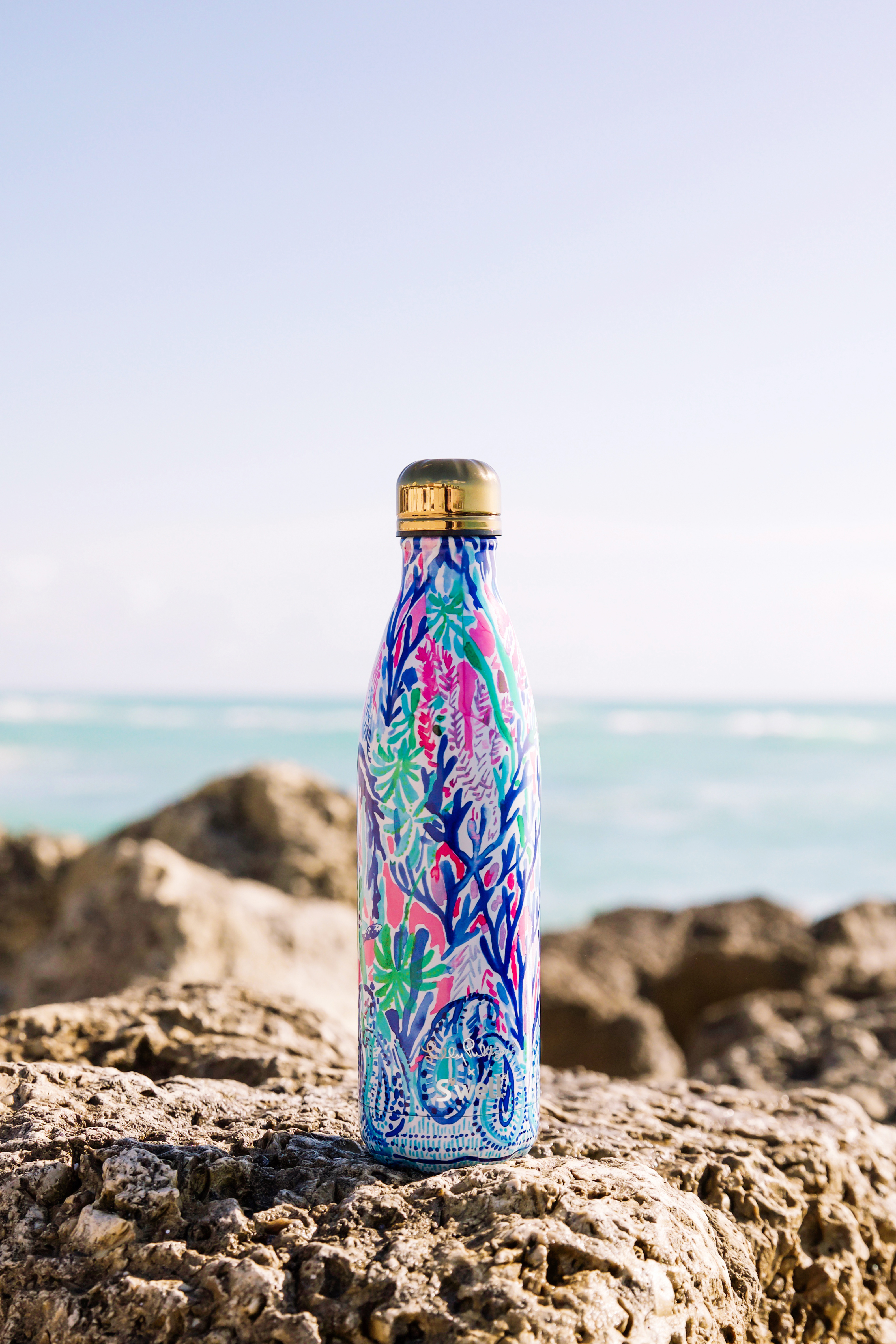 d6787b7ec0 Lilly Pulitzer x Swell Printed 2018 Water Bottle Collection: Pics