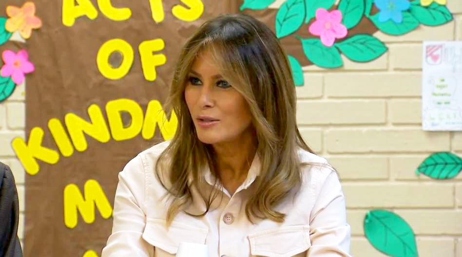 Melania Trump To Child Detainees: 'Good Luck'