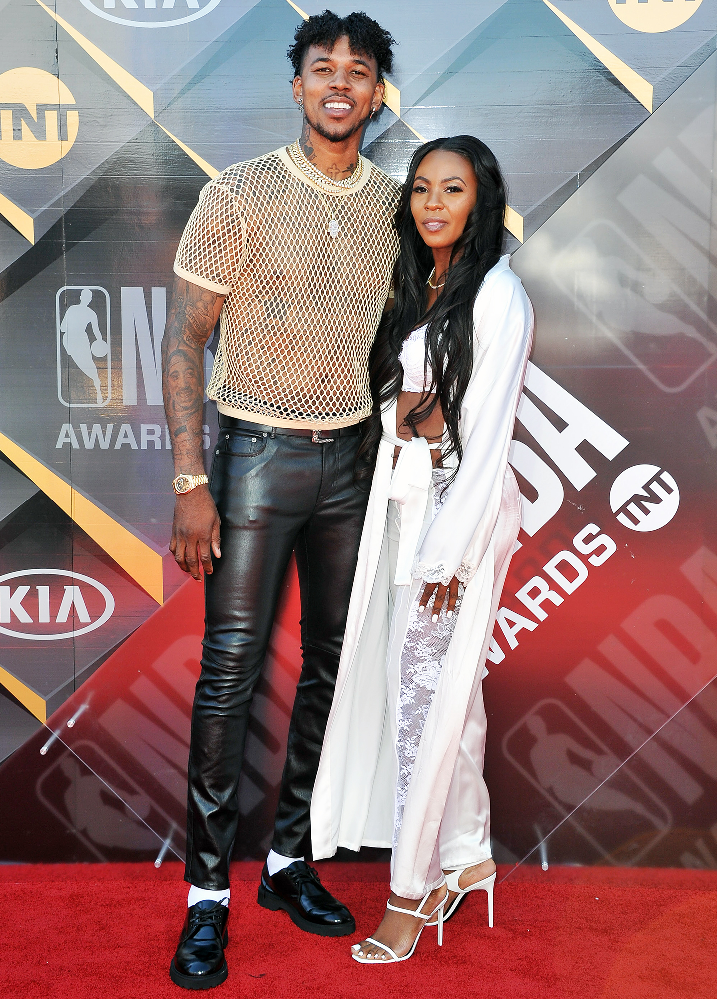 Nick Young Keonna Green 2018 NBA Awards Show
