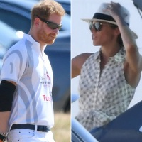 Prince Harry, Meghan Markle, Audi Polo Challenge Day 1, Coworth Park Polo Club, Ascot, England