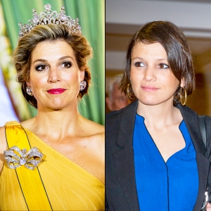 Queen Maxima of The Netherlands and Ines Zorreguieta