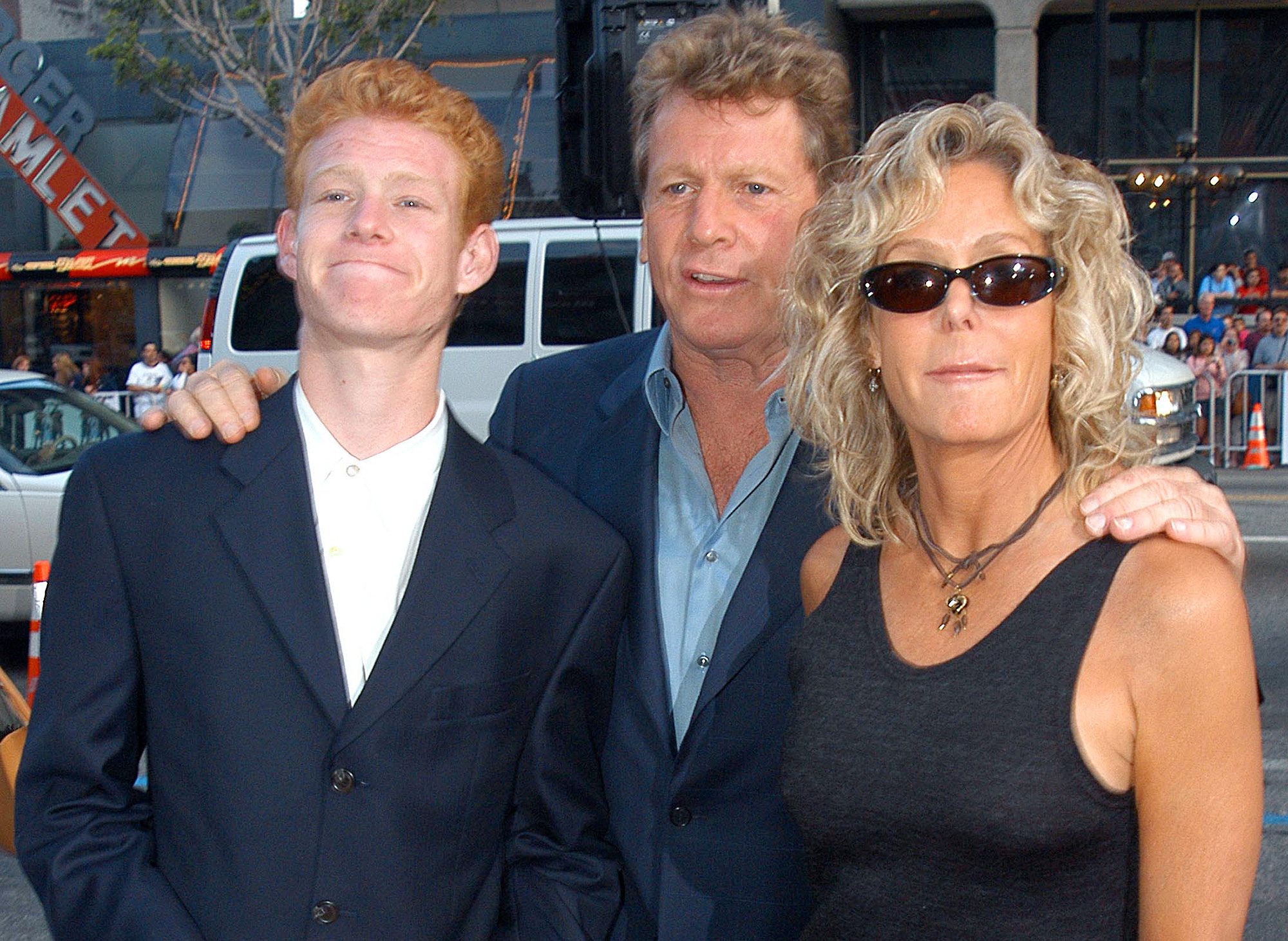 Son of Ryan O'Neal and Farrah Fawcett charged with attempted murder