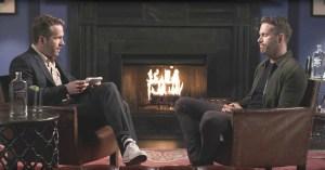 Ryan Reynolds interviewed by twin brother Gordon
