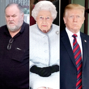 Thomas Markle, Queen Elizabeth II and Donald Trump