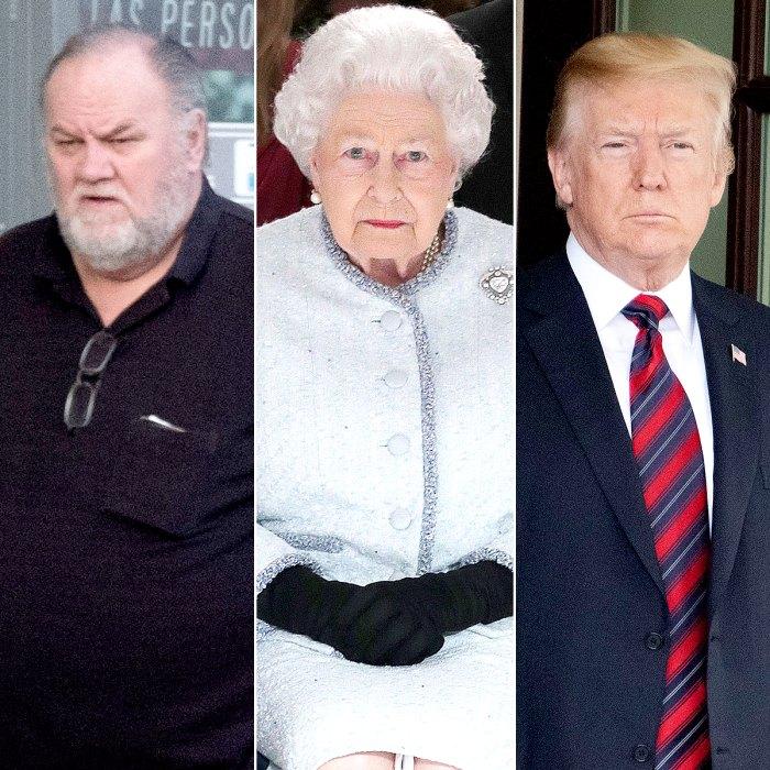 Thomas Markle, Queen Elizabeth II and Donald Trump