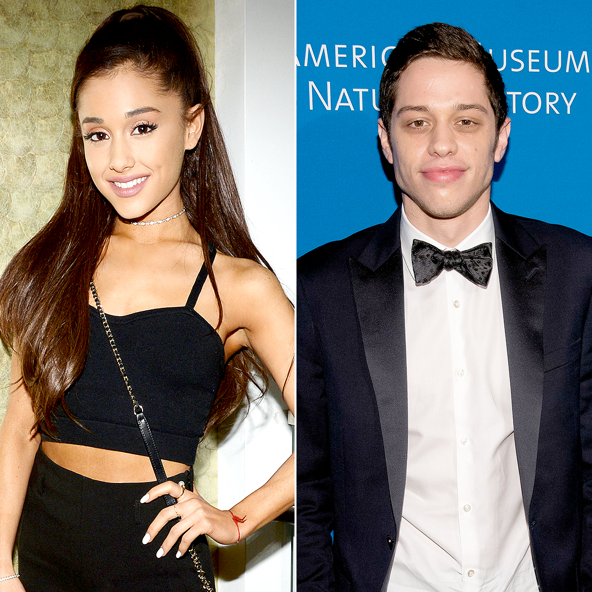 Ariana Grande and Pete Davidson Michael Simon  startraks