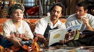 Rob Schneider and Adam Sandler in 'Big Daddy'