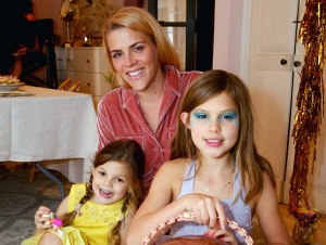 Busy Philipps with daughters Cricket and Birdie
