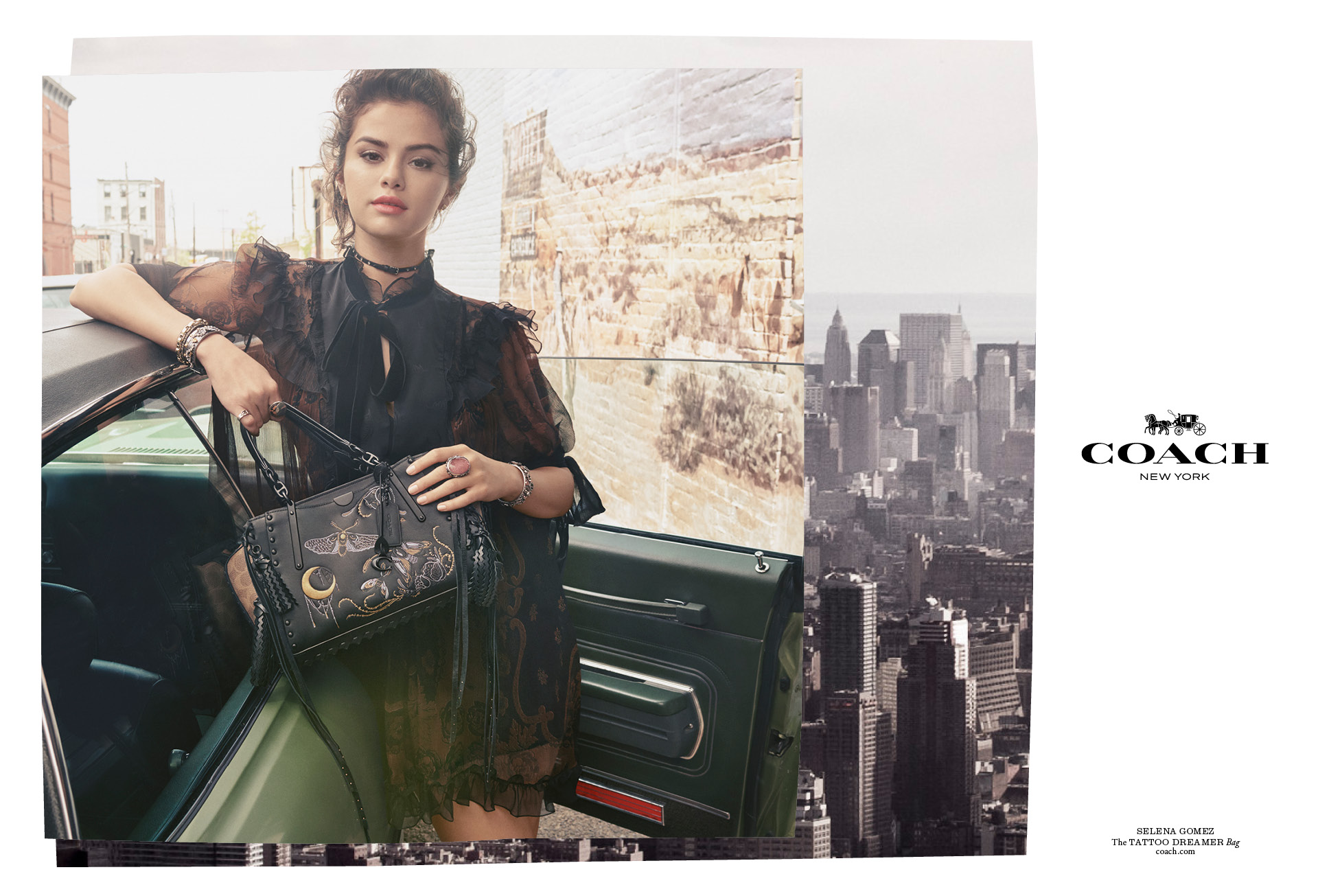 Selena Gomezs Fall 2018 Coach Campaign Is Fab On Zig