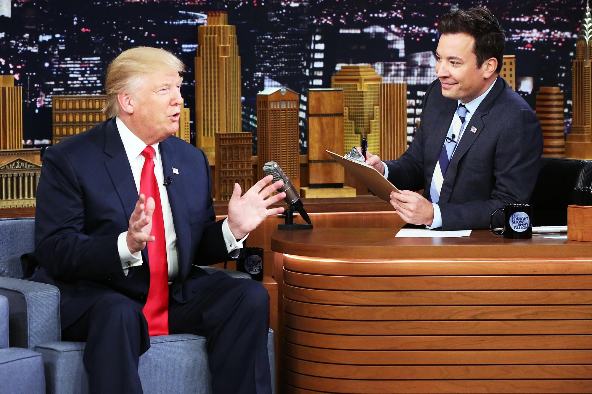 Donald Trump Slams Jimmy Fallon
