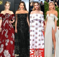 d8bc6e62e89a Hollywood Goes Bare  See 10 Top Off-the-Shoulder Red Carpet Looks!